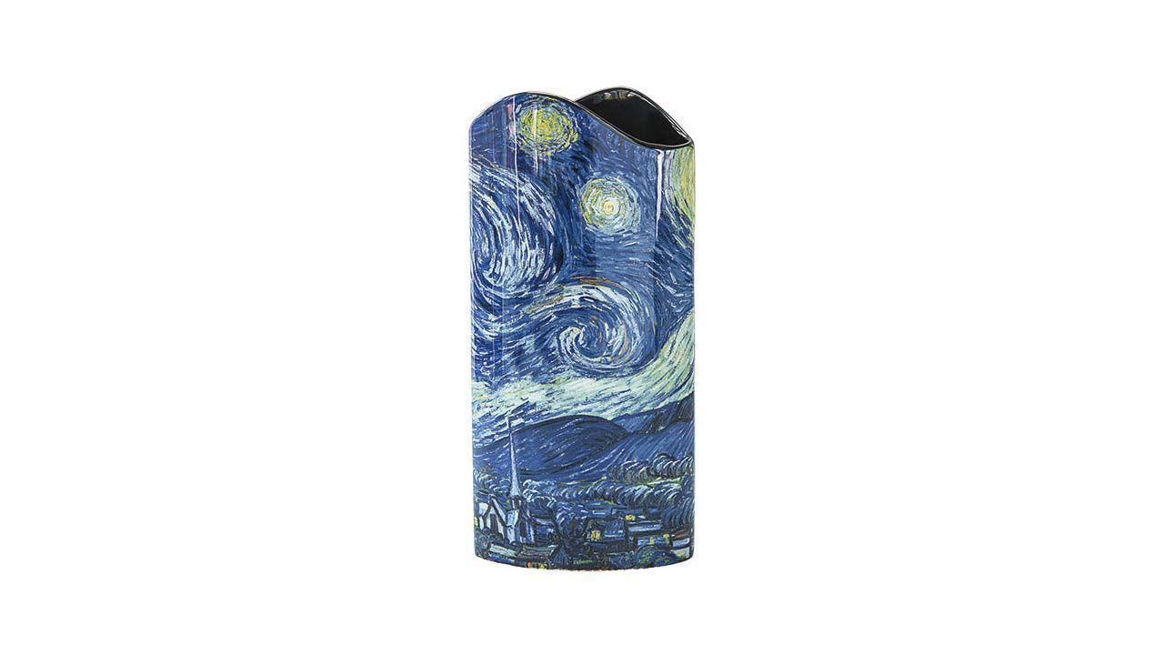 Product afbeelding: Vincent van Gogh porseleinen vaas 'Sterrennacht'
