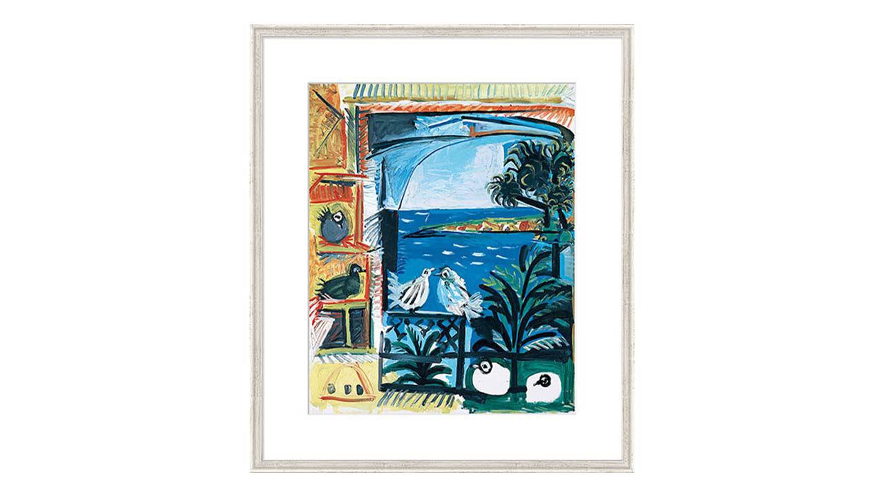 Product afbeelding: Pablo Picasso schilderij 'De Duiven II'