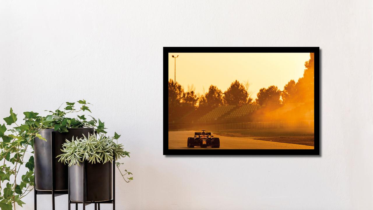 Product afbeelding: Fotoprint Max Verstappen in Barcelona