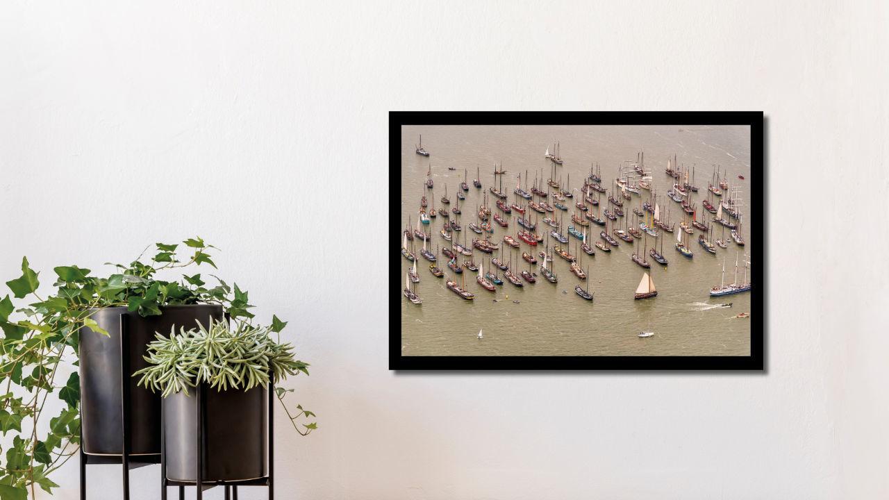 Product afbeelding: Fotoprint Historische schepen