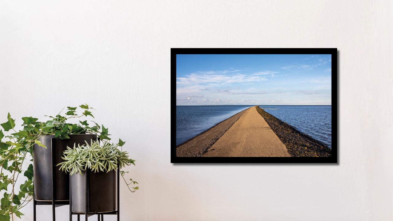 Product afbeelding: Fotoprint Langs de dijk