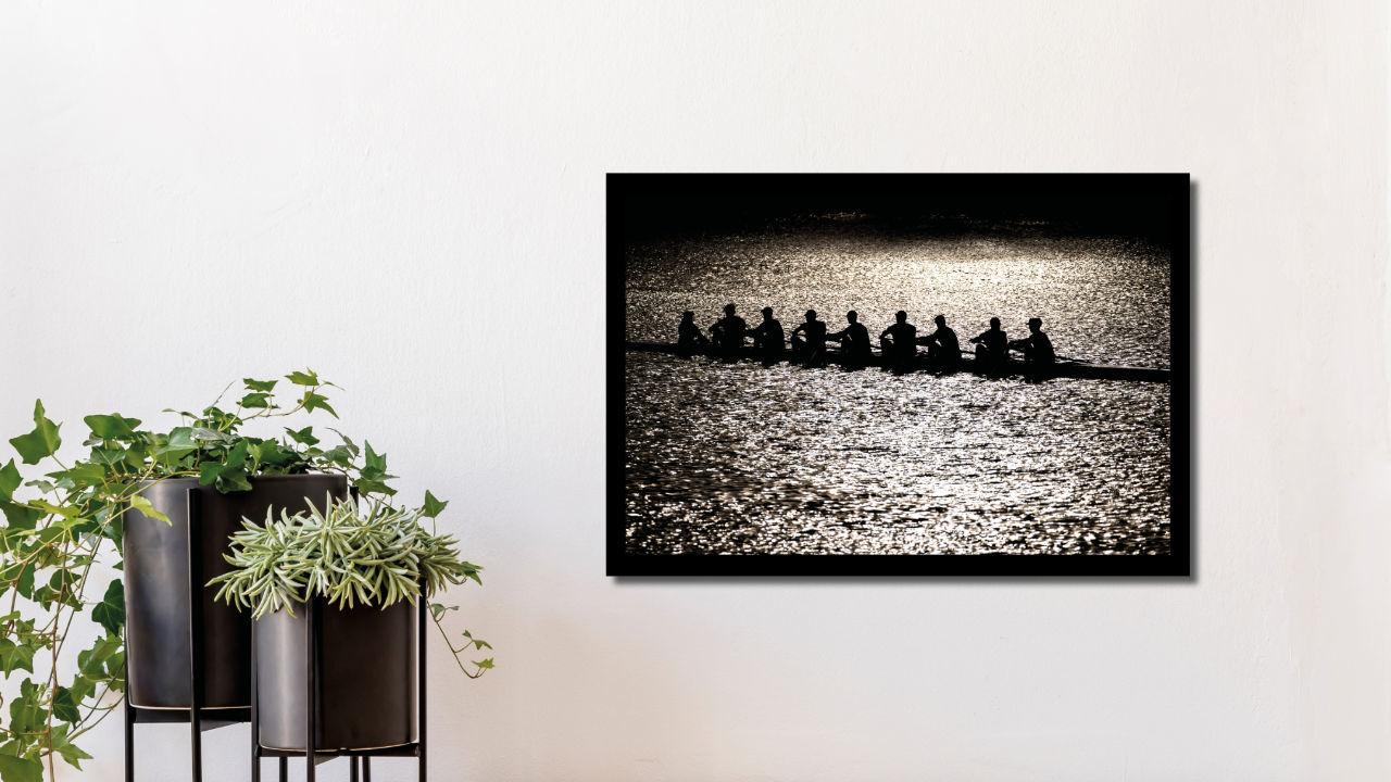 Product afbeelding: Fotoprint Trainen voor het EK roeien