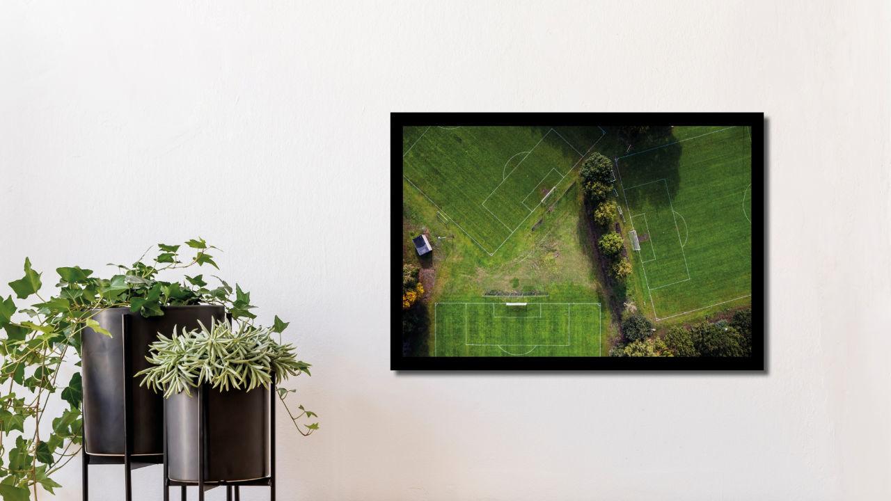 Product afbeelding: Fotoprint Lege sportvelden in Bladel