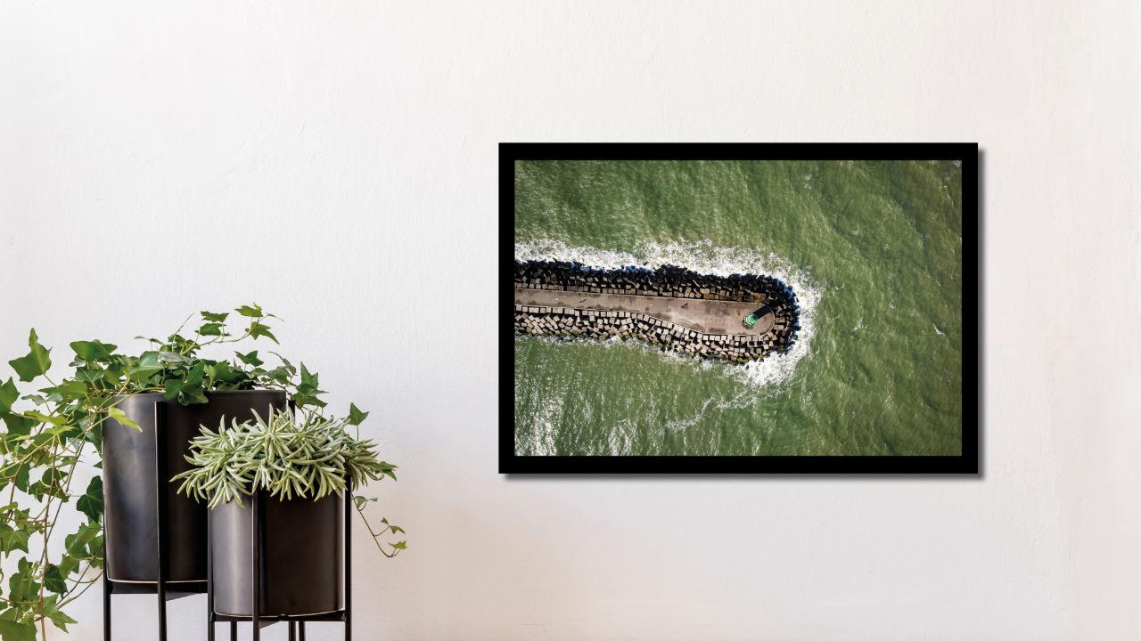Product afbeelding: Fotoprint Aan de Scheveningse Haven