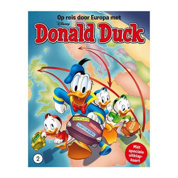 Product afbeelding: Donald Duck Reis door Europa deel 2