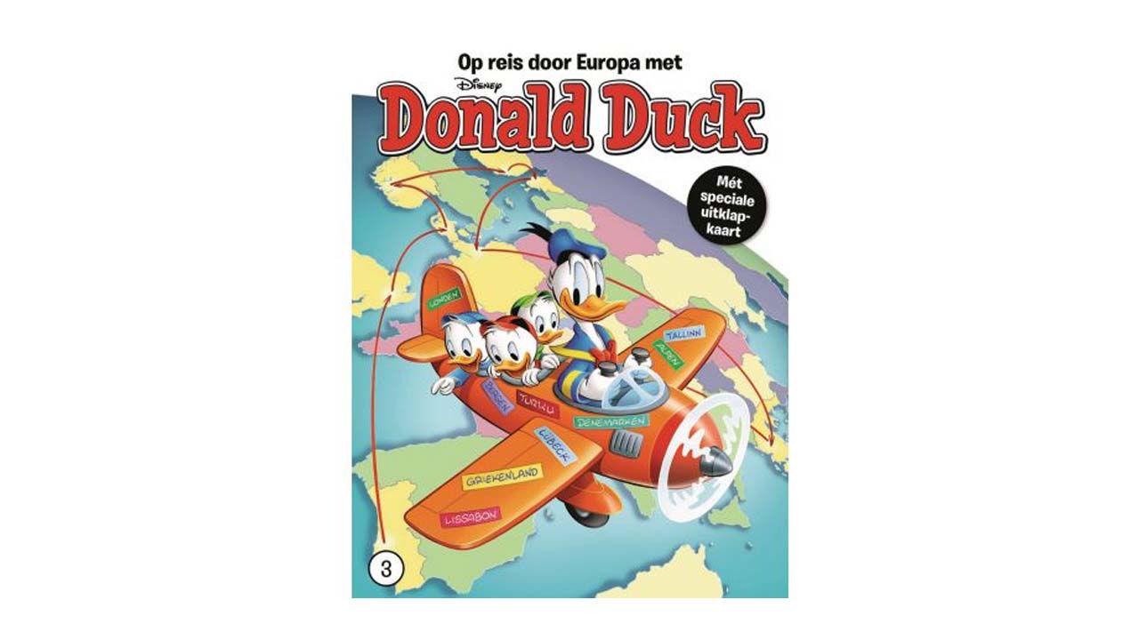 Product afbeelding: Donald Duck Reis door Europa deel 3