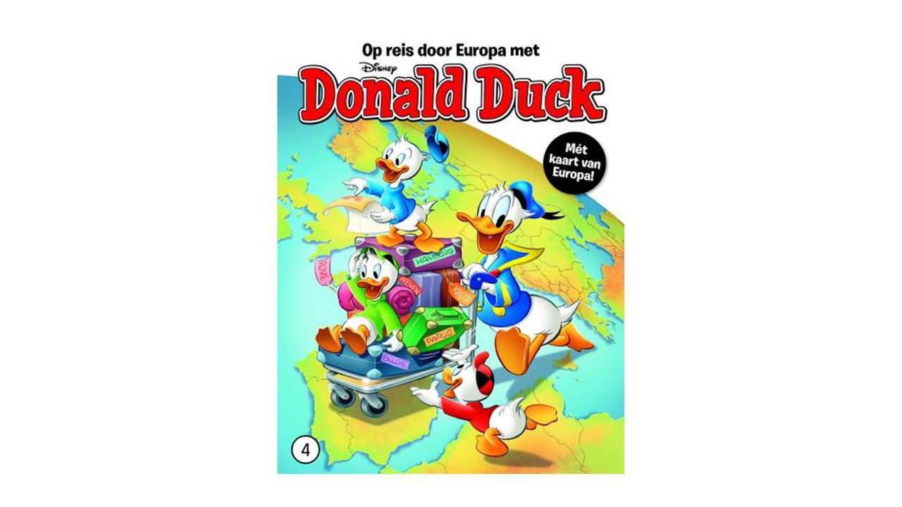 Product afbeelding: Donald Duck Reis door Europa deel 4