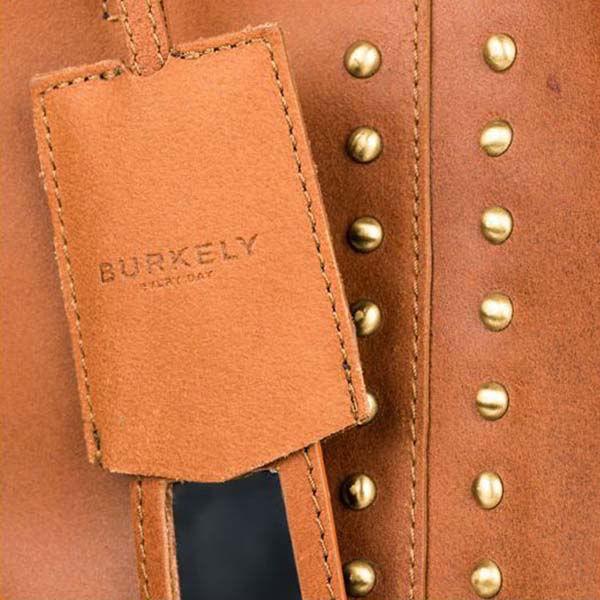 Product afbeelding: Burkely shopper cognac met studs
