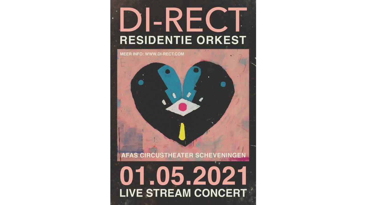 Product afbeelding: DI-RECT en RESIDENTIE ORKEST Livestream op 1 mei