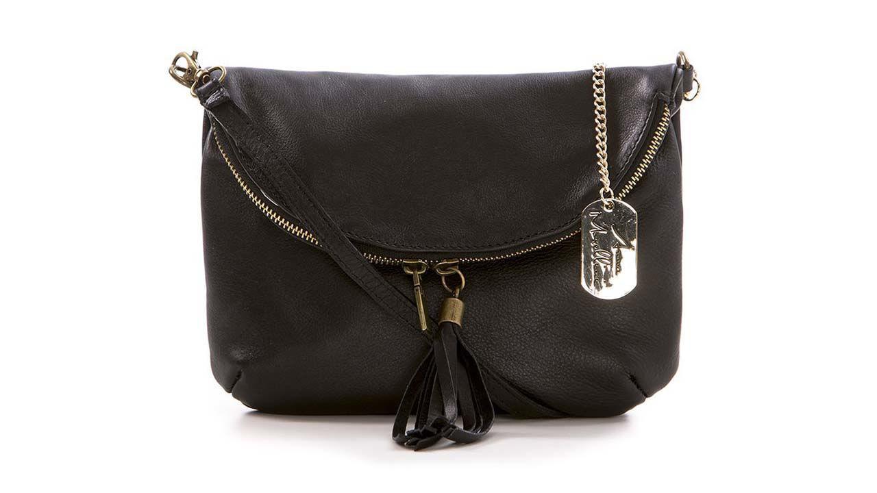 Product afbeelding: Anna Morellini schoudertas - Alice zwart