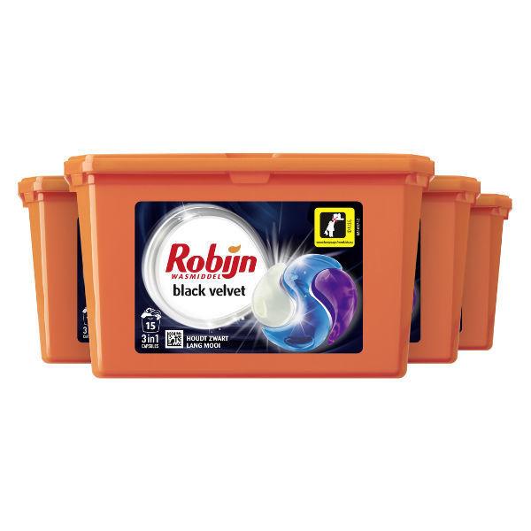Product afbeelding: 8 dozen Robijn Wasmiddel Capsules