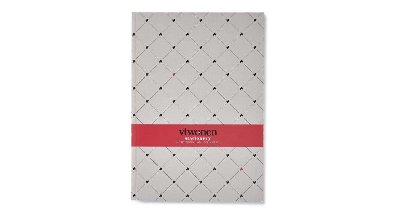 Product afbeelding: vtwonen - Notitieboek A5