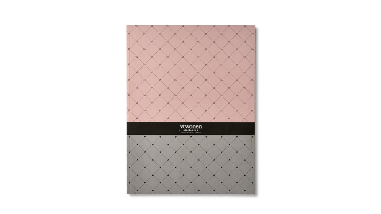Product afbeelding: vtwonen - Inpakpapier met labels