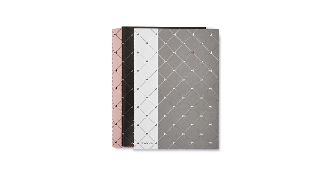 Product afbeelding: vtwonen - Set van 3 notitieboekjes