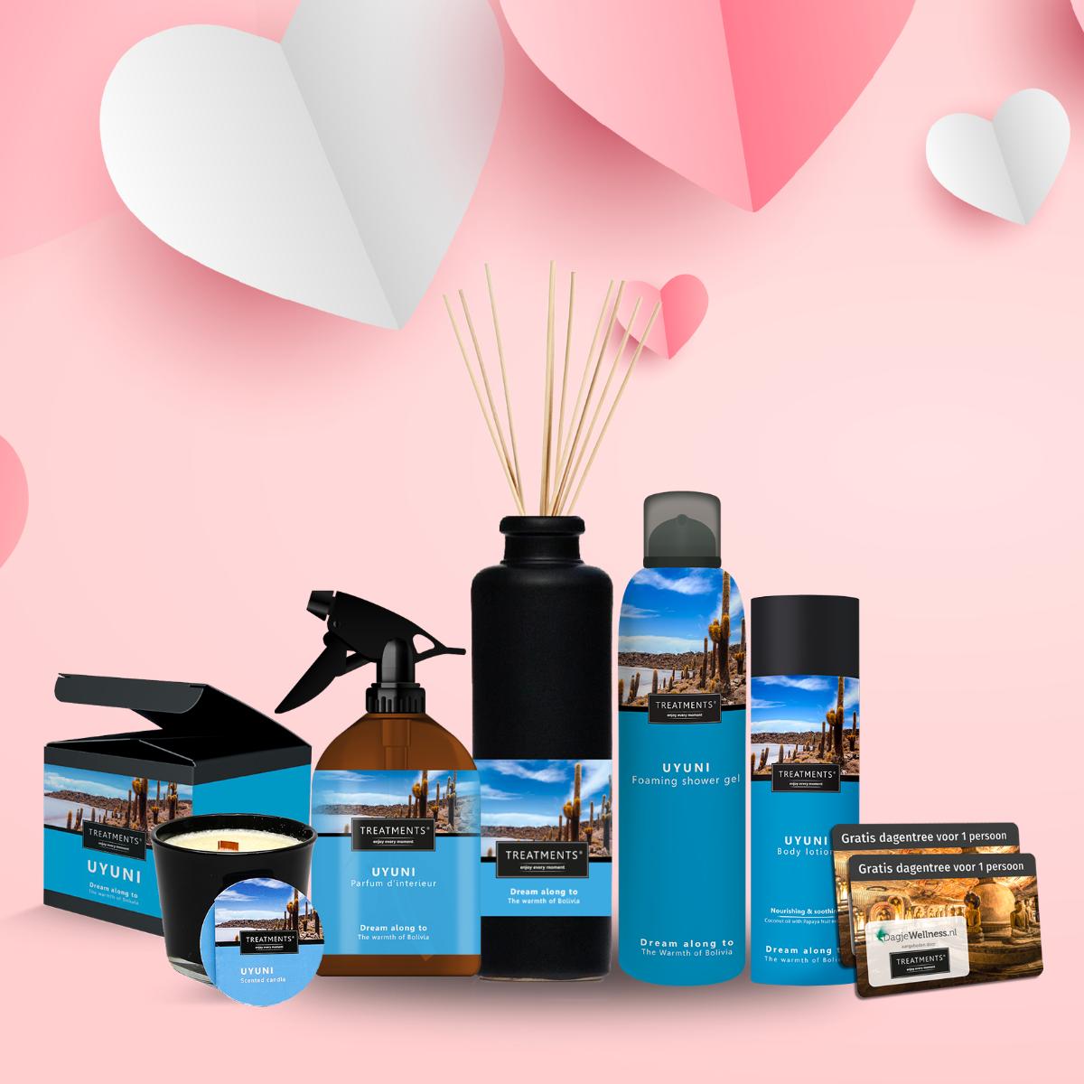 Product afbeelding: TREATMENTS® Moederdag giftbox DELUXE incl. dagje Wellness