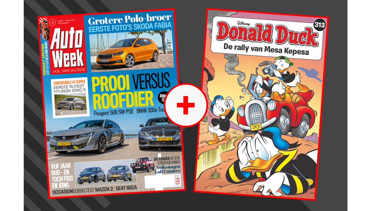 Product afbeelding: Donald Duck Pocket 313 + AutoWeek 19