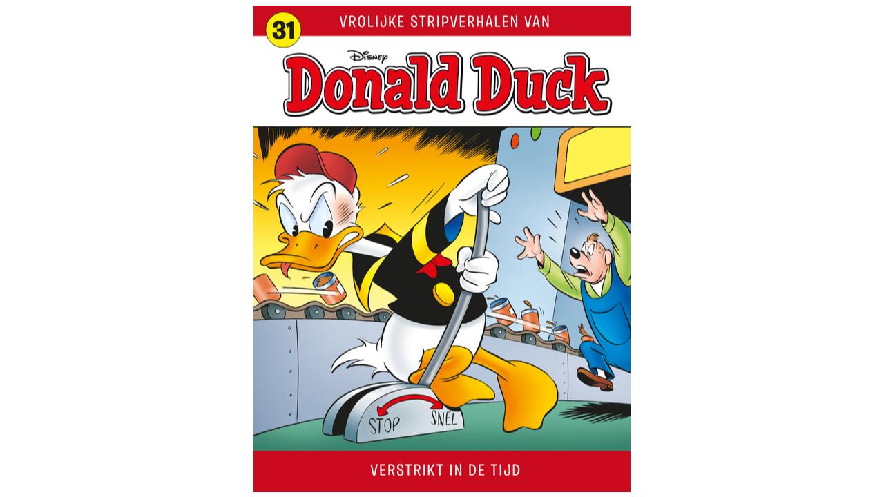 Product afbeelding: Donald Duck Vrolijke Stripverhalen 31