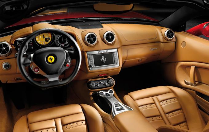 Afbeelding van Ferrari California rijden