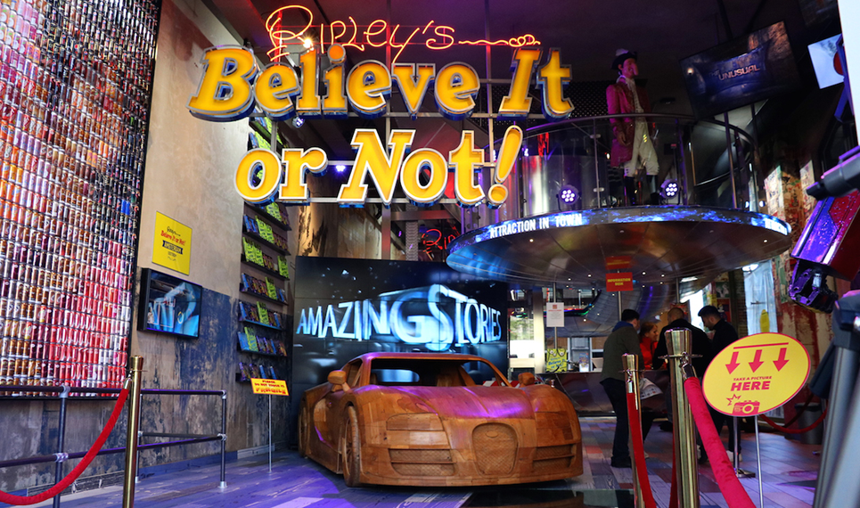 Afbeelding van Ripley's Believe It or Not!