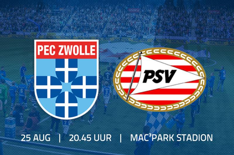 Afbeelding van PEC Zwolle – PSV