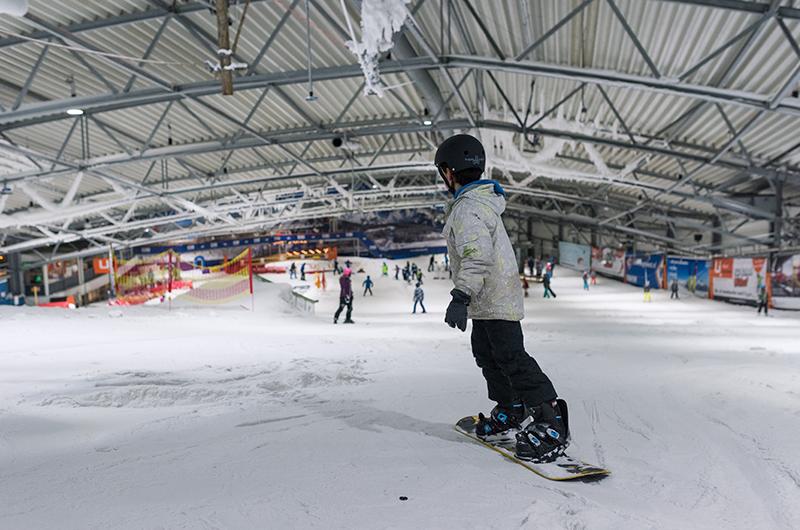Afbeelding van De Uithof  Sneeuwbaan